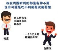 拼多多给中文互联网提供好几周的娱乐笑料